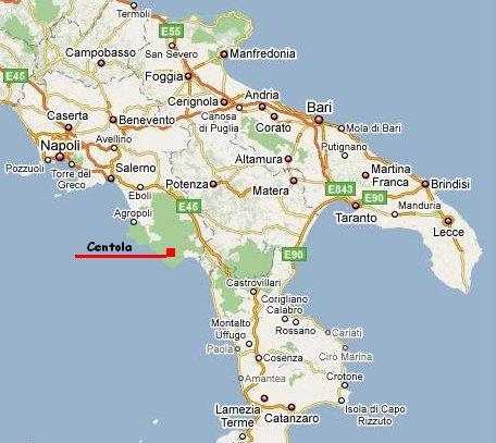 Cartina Geografica Sud Italia | Tiesby Nelson